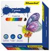 Гуашь Silwerhof 962076-09 Бабочки 9цв. бан. 15мл. картон.кор. вид 1