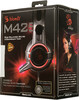 Наушники с микрофоном A4 Bloody M425,  мониторы, темно-серый  [m425 grey] вид 10