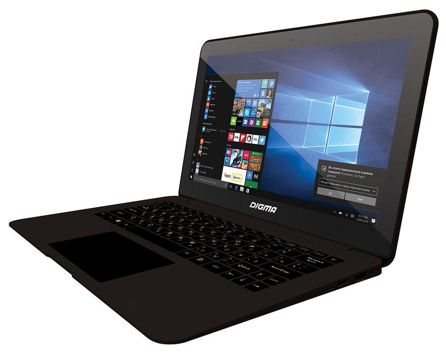 "Ноутбук DIGMA CITI E201, 11.6"", Intel  Atom X5  Z8350 1.44ГГц, 4Гб, 64Гб +  32Гб SSD,  Intel HD Graphics  400, Windows 10 Home, ES2001EW,  черный"