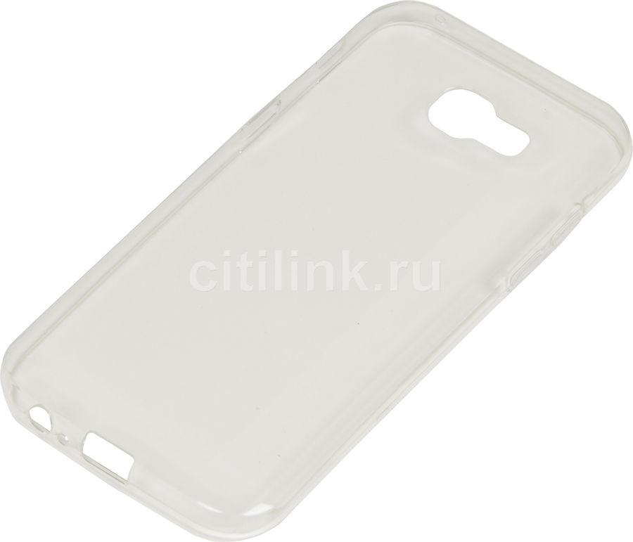 Чехол (клип-кейс) REDLINE iBox Crystal, для Samsung Galaxy A5 (2017), прозрачный [ут000010231]