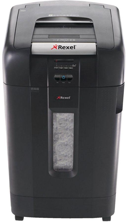 Уничтожитель бумаг REXEL Auto+ 750X,  уровень 3,  P-4,  4х40 мм [2103750eu]