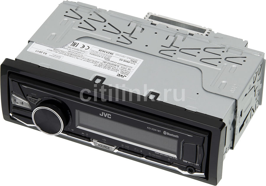 Автомагнитола JVC KD-X341BT,  USB