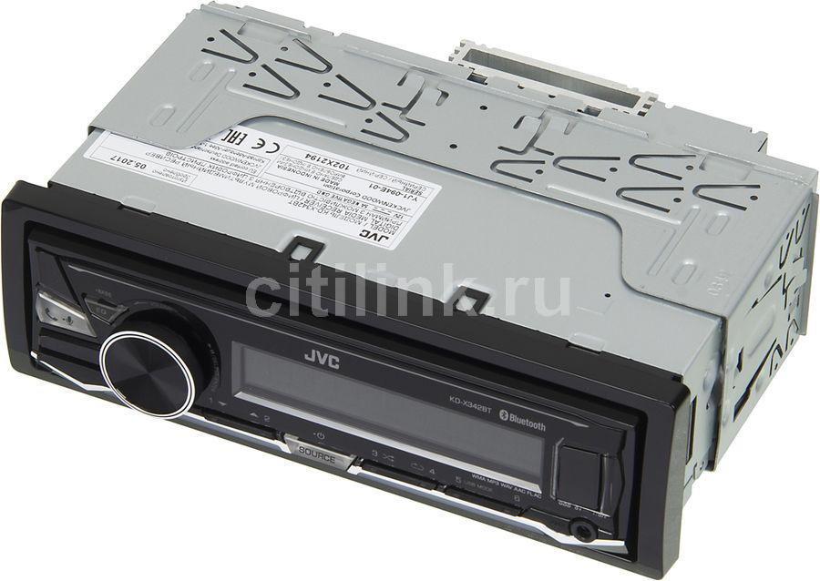 Автомагнитола JVC KD-X342BT 1DIN 4x50Вт(Б/У)