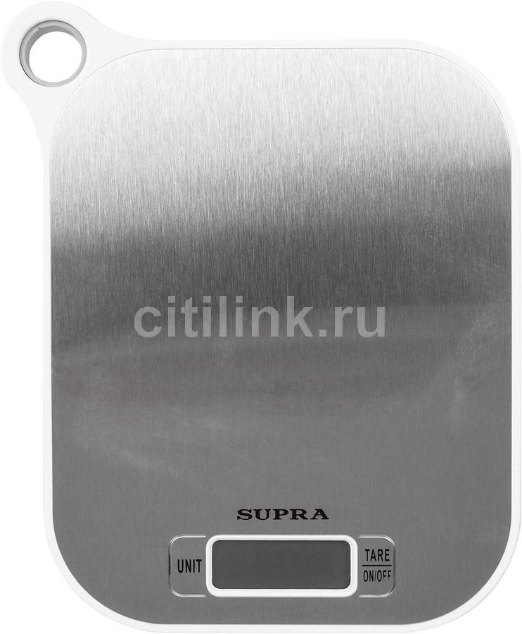 Весы кухонные SUPRA BSS-4077,  белый