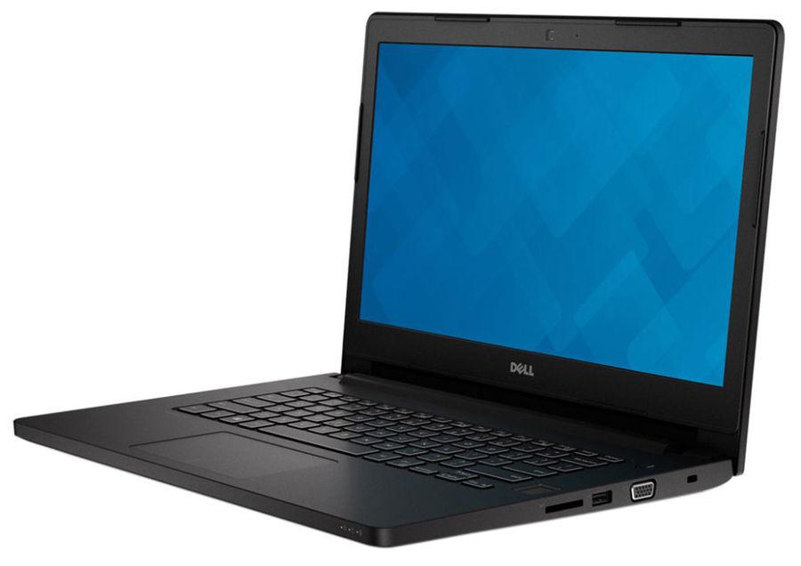 "Ноутбук DELL Latitude 3470, 14"", Intel  Core i5  6200U 2.3ГГц, 4Гб, 500Гб, Intel HD Graphics  520, Free DOS, 3470-9422,  черный"