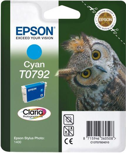 Картридж EPSON T0792 голубой [c13t07924010]