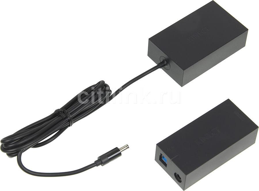 Адаптер MICROSOFT 9J7-00009, для  Xbox One, черный