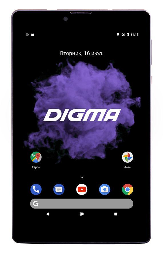"""Планшет Digma CITI 7507 4G SC9832 4C/2Gb/32Gb 7"""" IPS 1280x800/3G/4G/And6.0/черный/ (отремонтированный)"""