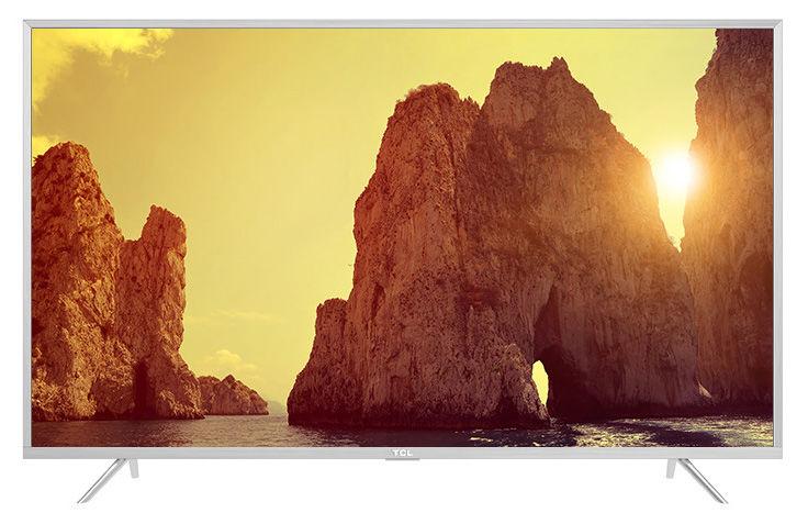 "LED телевизор TCL L55P2US  ""R"", 55"", Ultra HD 4K (2160p),  серебристый"