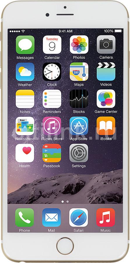 "Смартфон APPLE iPhone 6 Plus 64Gb ""Как новый"",  FGAK2RU/A,  золотистый"