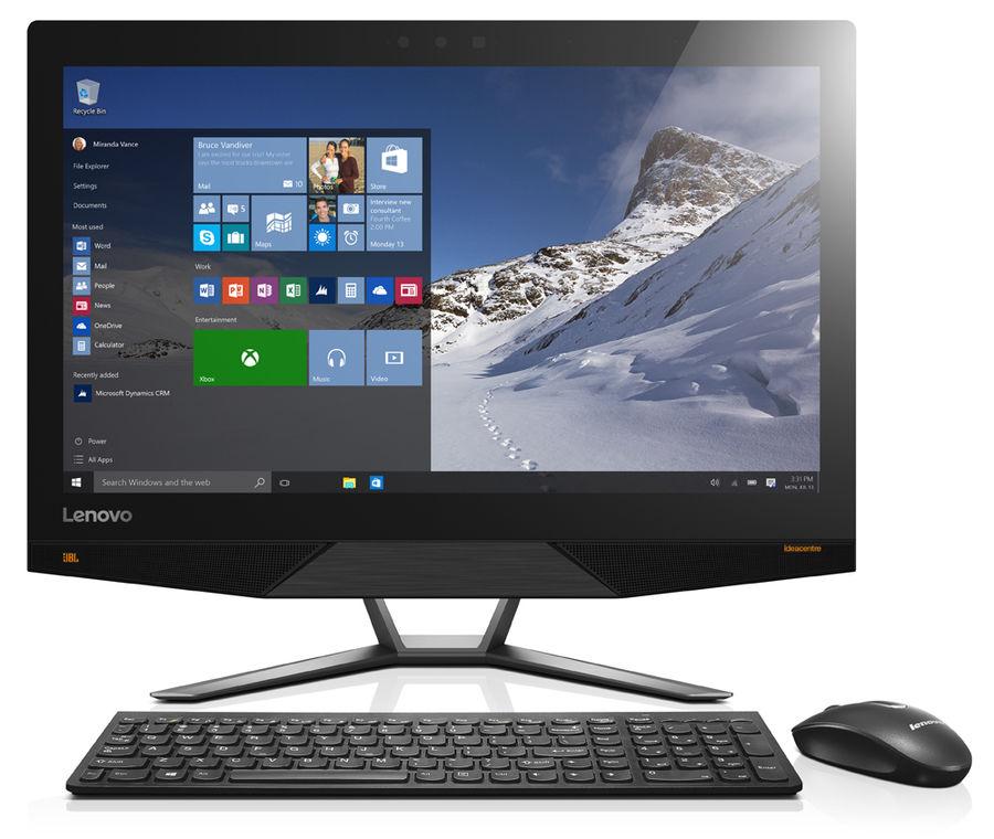 Моноблок LENOVO IdeaCentre 720-24IKB, Intel Core i7 7700, 8Гб, 1000Гб, NVIDIA GeForce GTX960A - 2048 Мб, Windows 10, черный [f0cm0016rk]