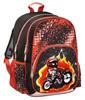Рюкзак Hama MOTORBIKE черный/красный [00139086] вид 1