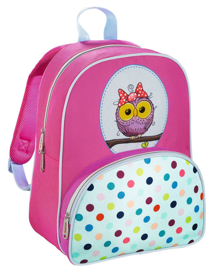 Рюкзак детский Hama SWEET OWL розовый/голубой [00139105]