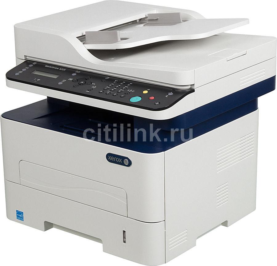 МФУ лазерный Xerox WorkCentre WC3225DNI (3225V_DNIY) A4 Duplex Net WiFi белый/сини (плохая упаковка)