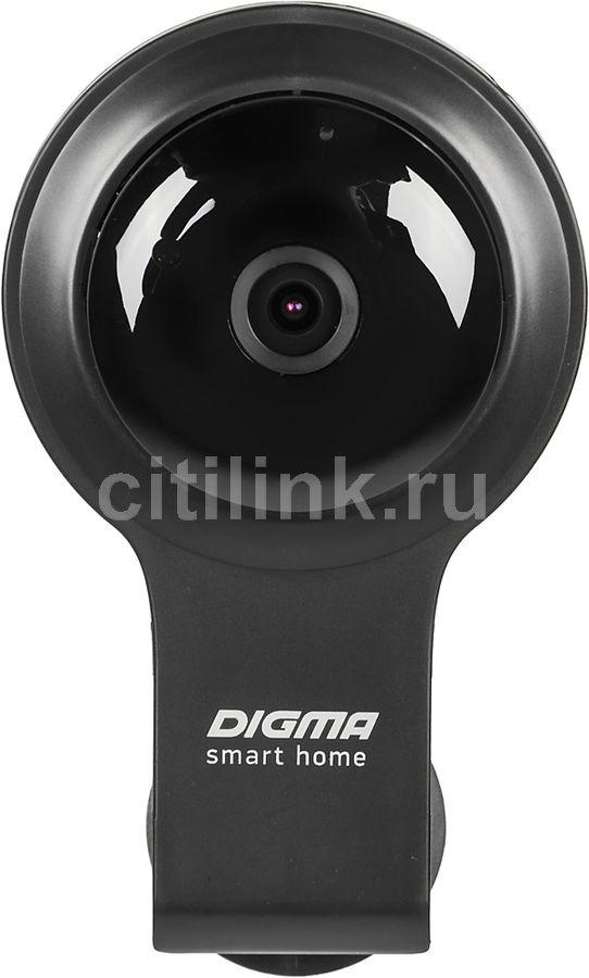 Видеокамера IP DIGMA DiVision 100,  черный