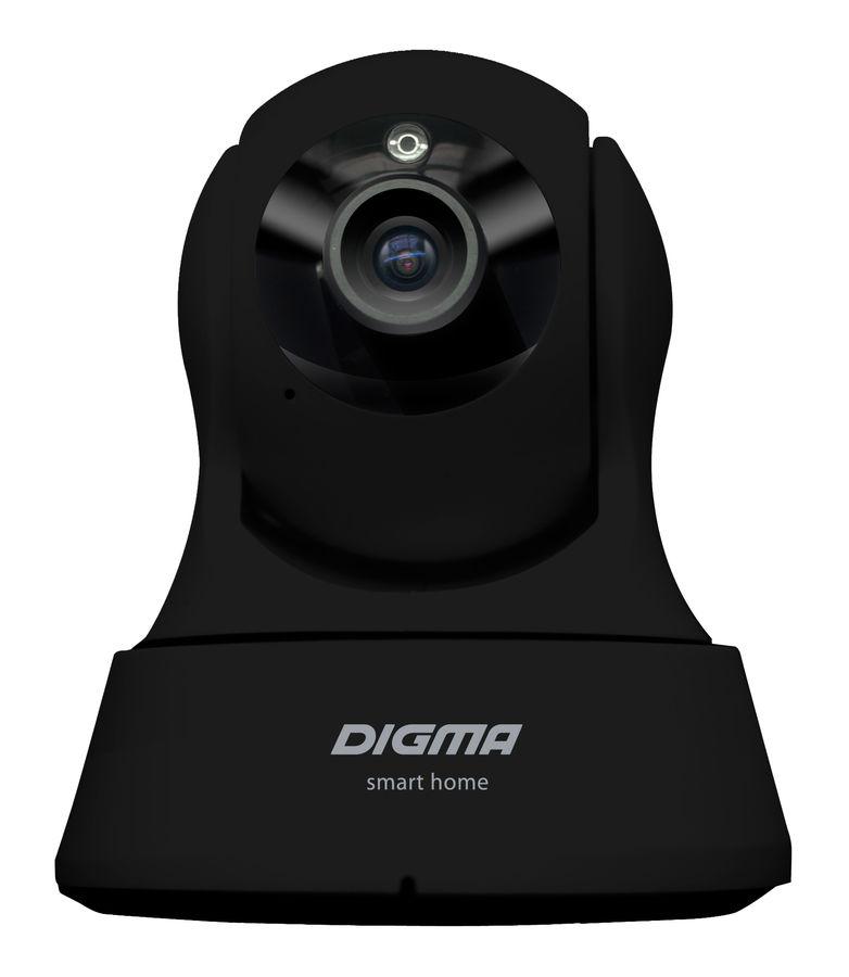 Видеокамера IP DIGMA DiVision 200,  черный