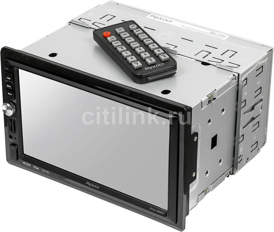 Автомагнитола Prology DNU-2650 2DIN 4x55Вт ПО:Navitel (отремонтированный)
