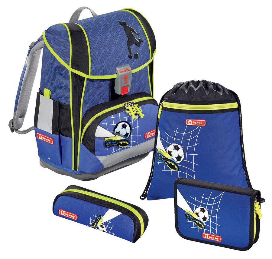 Ранец Step By Step Light2 Top Soccer синий 4 предмета [00138508]