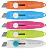 Нож канцелярский Deli E2020 Vivid Mini шир.лез.9мм фиксатор сталь ассорти блистер вид 1