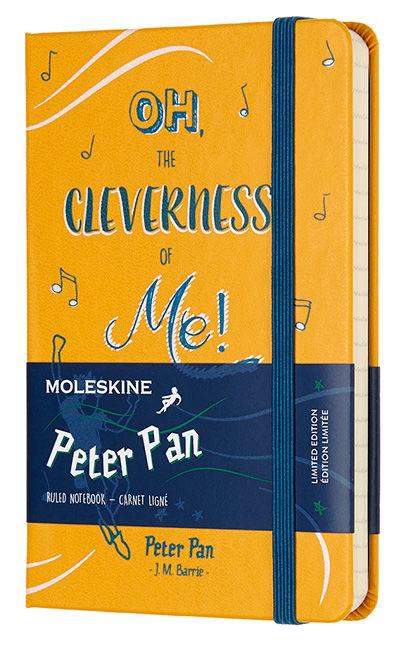 Блокнот Moleskine Limited Edition PETER PAN Pocket 90x140мм 192стр. линейка Peter [lepn01bmm710]