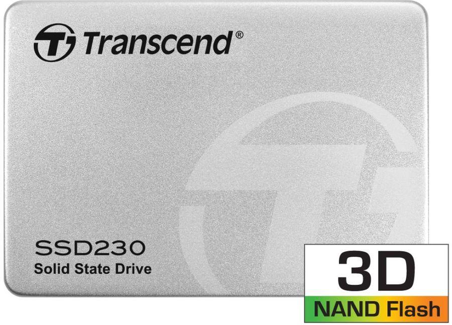 SSD накопитель TRANSCEND TS256GSSD230S 256Гб, 2.5