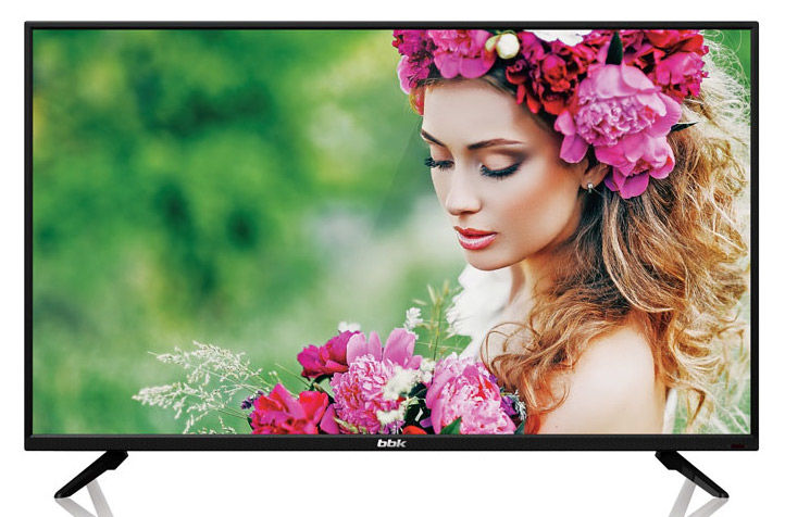 "LED телевизор BBK 32LEM-1033/TS2C  ""R"", 32"", HD READY (720p),  черный"