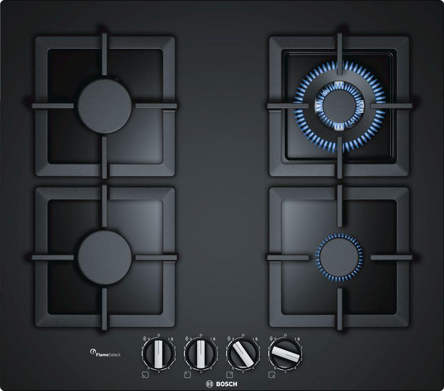 Варочная панель BOSCH PPH6A6B20,  независимая,  черный