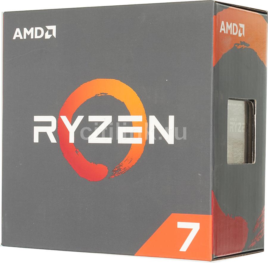 Процессор AMD Ryzen 7 1700X, SocketAM4 BOX [yd170xbcaewof]