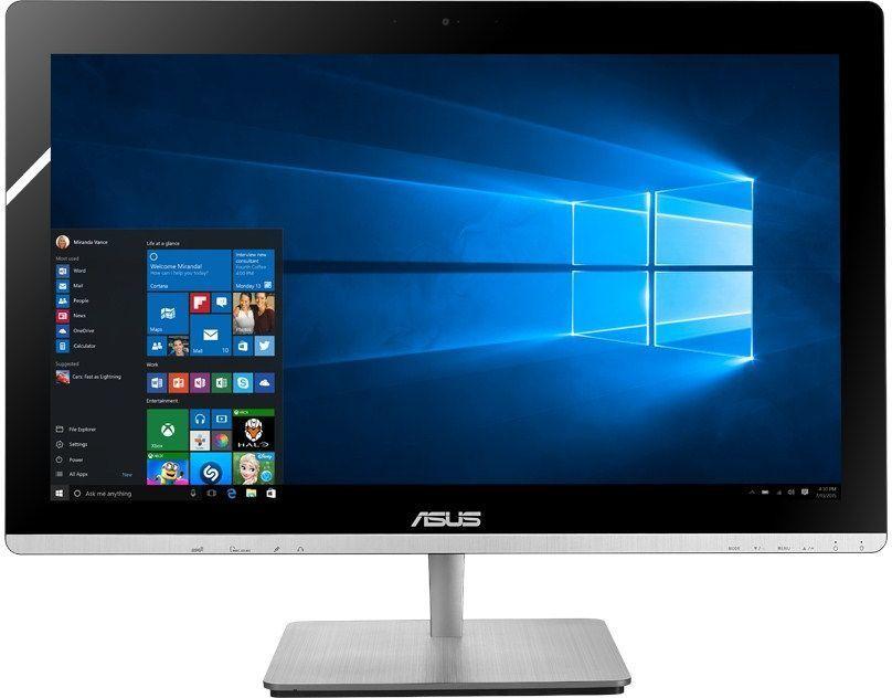 Моноблок ASUS V230ICGK-BC322X, Intel Core i5 6400T, 8Гб, 1000Гб, NVIDIA GeForce GT930M - 2048 Мб, DVD-RW, Windows 10, черный [90pt01g1-m16180]