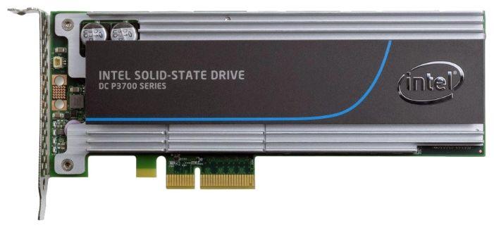 SSD накопитель INTEL DC P3700 SSDPEDMD400G401 400Гб, PCI-E AIC (add-in-card), PCI-E x4