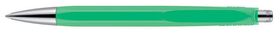 Ручка шариковая Carandache Office INFINITE (888.201) Veronese Green M синие чернила без упак.