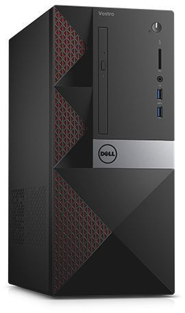 Компьютер  DELL Vostro 3667,  Intel  Core i3  6100,  DDR4 4Гб, 500Гб,  Intel HD Graphics 530,  DVD-RW,  CR,  Windows 10 Professional,  черный [3667-8107]