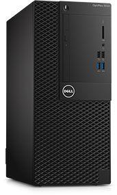 Компьютер  DELL Optiplex 3050,  Intel  Core i5  7500,  DDR4 8Гб, 1000Гб,  Intel HD Graphics 630,  DVD-RW,  Windows 10 Professional,  черный [3050-8244]