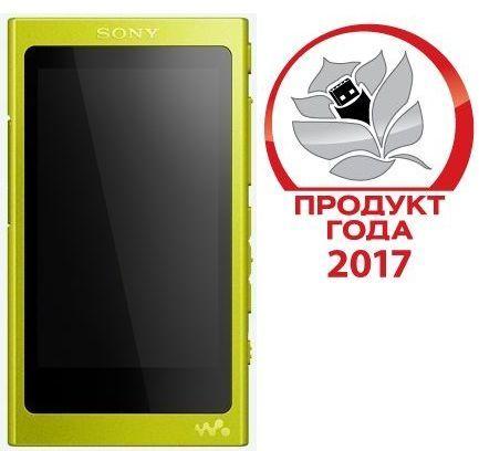 MP3 плеер SONY NW-A35 flash 16Гб лайм [nwa35y.ee]