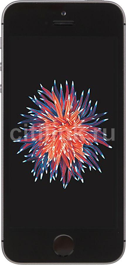 "Смартфон Apple MP822RU/A iPhone SE 32Gb серый моноблок 3G 4G 4"" 640x1136 iOS 9 12M (отремонтированный)"