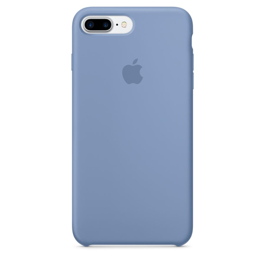 Чехол (клип-кейс) APPLE MQ0M2ZM/A, для Apple iPhone 7 Plus, голубой