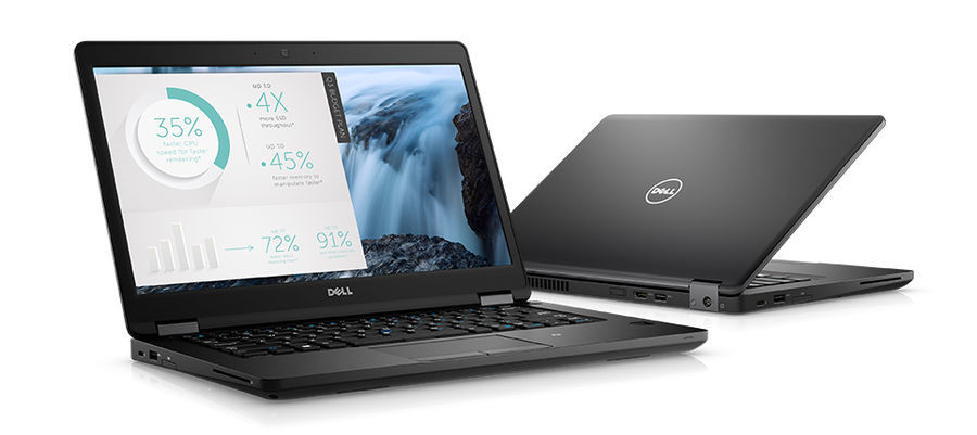 "Ноутбук DELL Latitude 5480, 14"", Intel  Core i5  7440HQ 2.8ГГц, 8Гб, 256Гб SSD,  nVidia GeForce  GF 930MX - 2048 Мб, Linux, 5480-9187,  черный"