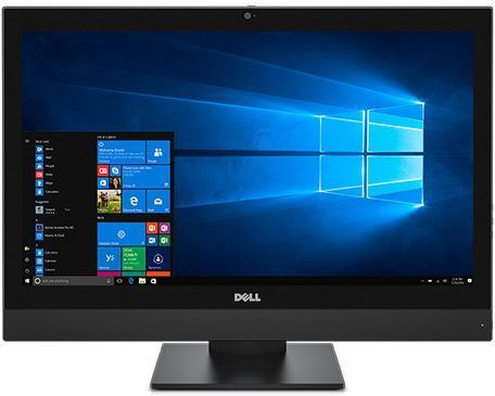Моноблок DELL Optiplex 7450, Intel Core i5 7500, 8Гб, 256Гб SSD,  Intel HD Graphics 630, DVD-RW, Linux, черный [7450-8411]