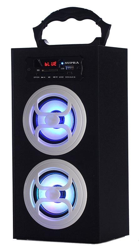 Аудиомагнитола SUPRA BTS-650,  черный