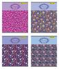 Тетрадь Silwerhof 811505-55 48л. клет. A5 Цветочный орнамент 4диз. картон вод.лак скрепка вид 1