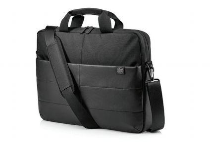 """Сумка для ноутбука HP Classic Briefcase 15.6"""" синтетика черный [1fk07aa]"""