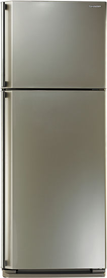 Холодильник SHARP SJ-58CCH,  двухкамерный,  шампань