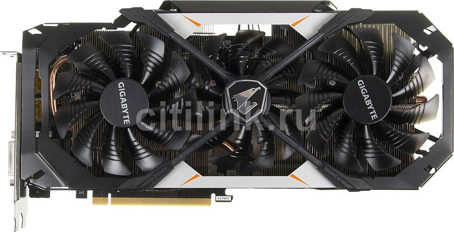 Видеокарта GIGABYTE GeForce GTX 1070,  GV-N1070AORUS-8GD,  8Гб, GDDR5, OC,  Ret