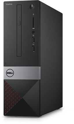 Компьютер  DELL Vostro 3268,  Intel  Pentium  G4560,  DDR4 4Гб, 500Гб,  Intel HD Graphics 610,  DVD-RW,  CR,  Linux,  черный [3268-8152]