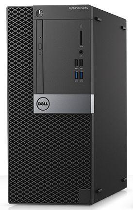 Компьютер  DELL Optiplex 5050,  Intel  Core i7  7700,  DDR4 8Гб, 1000Гб,  Intel HD Graphics 630,  DVD-RW,  Linux,  черный и серебристый [5050-8282]