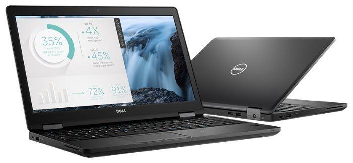 """Ноутбук DELL Latitude 5580, 15.6"""", Intel  Core i7  7820HQ 2.9ГГц, 16Гб, 512Гб SSD,  nVidia GeForce  940MX - 2048 Мб, Windows 10 Professional, 5580-9248,  черный"""