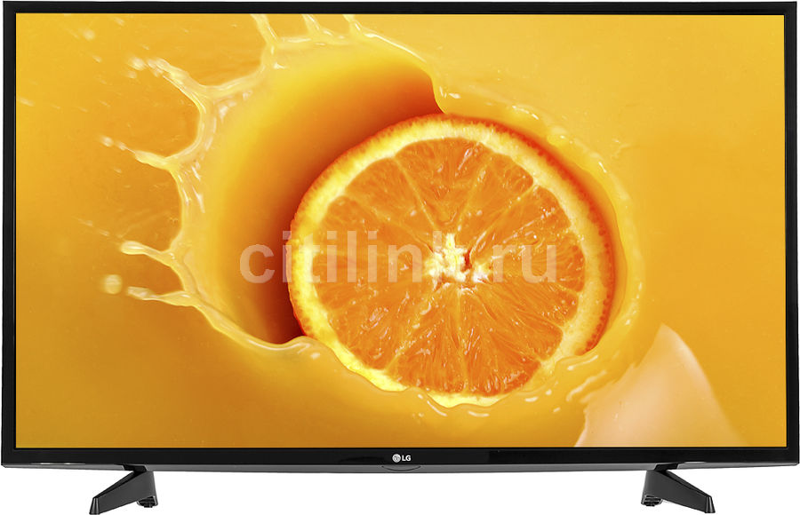 """LED телевизор LG 43LJ510V  """"R"""",  черный"""