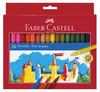 Фломастер Faber-Castell Eberhard Faber Замок 55423636цв. коробка