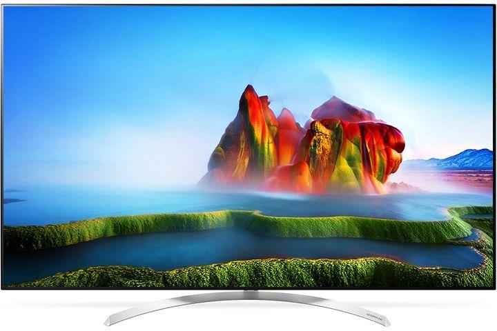 """LED телевизор LG 55SJ930V  """"R"""", 55"""", Super Ultra HD 5K,  черный"""