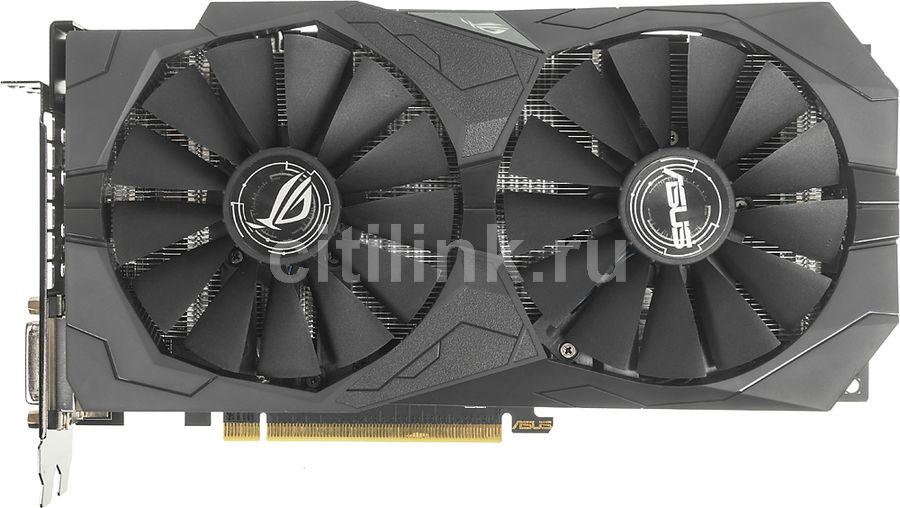 Видеокарта ASUS AMD  Radeon RX 570 ,  ROG-STRIX-RX570-O4G-GAMING,  4Гб, GDDR5, OC,  Ret